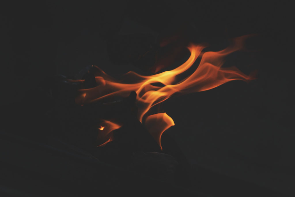 Anger - It Only Takes A Spark To Get The Fire Going